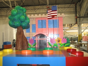 American 1\'s Rose Parade float
