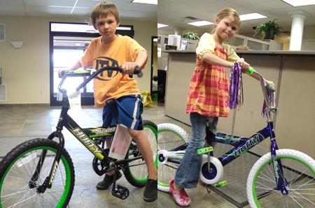American 1 Kids' Fest bikes