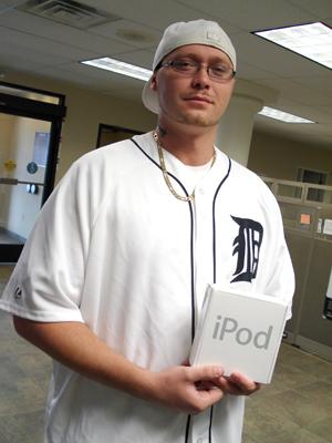June iPod winner
