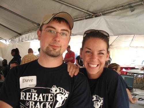 Dave Lawrence & Kristi Latoszewski