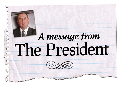 Message from the President