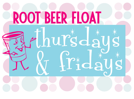 Free root beer floats!